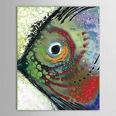 IARTS®Handgemaltes Ölgemälde Animal Tropical Fish with Stretched Frame Bee Painting, Fish Illustration, Water Art, Coastal Wall Art, Sea Art, Alcohol Ink Art, Zentangle, Naive Art, Online Painting