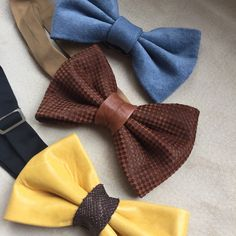 New updates for leather bowties ‍♂️ New colors, New effects, New style