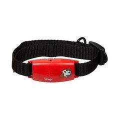 Pettags No-Bark Collar - Red
