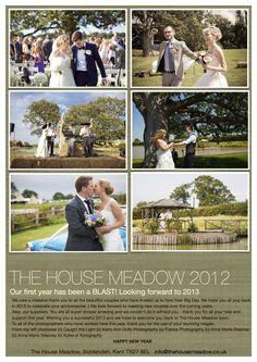 The House Meadow Wedding Venue in Biddenden Kent.