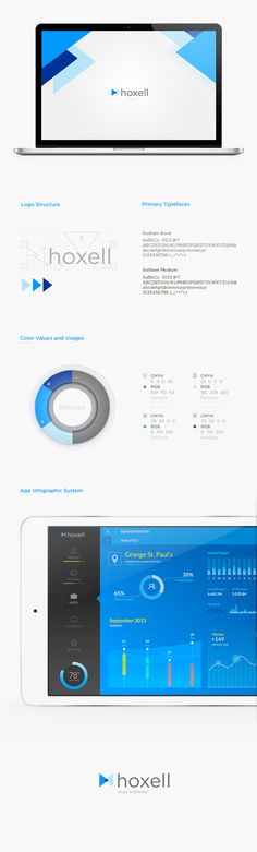 hoxell by Franco Roncoroni, via Behance