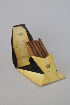 COVADOR XERES Cigar Packaging by Aik Chin Teoh, via Behance