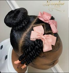 Little Girls Natural Hairstyles, Cute Toddler Hairstyles, Kids Curly Hairstyles, Princess Hairstyles, Easy Natural Hairstyles, Hairstyle For Kids, Black Little Girl Hairstyles, Children Hairstyles, Twist Hairstyles