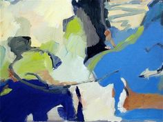 Maureen Chatfield On the Coast, 2014, MATERIALS:	Canvas, Oil Paint, oil on canvas CONDITION:	Excellent HEIGHT:	30 in. (76 cm) WIDTH:	40 in. (102 cm) GALLERY LOCATION:	Greenwich, CT
