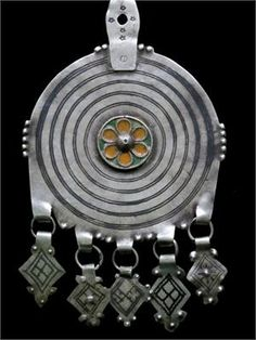 Berber Tribal Jewelry - Old Bedouin Pendant Collectible