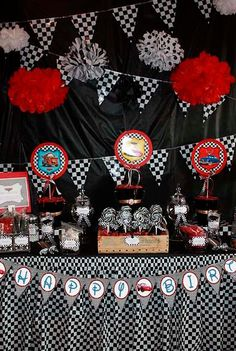 Car Themed Birthday Ideas