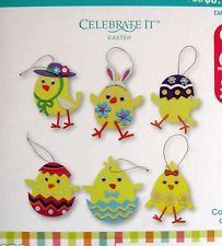 EASTER EGG CHICKS Kids Foam Craft Kit with Stickers (Makes 24) Group Kit NEW
