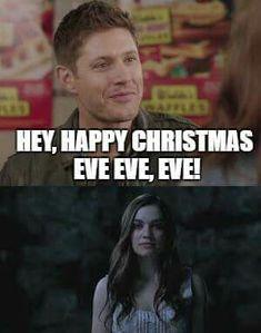 Supernatural Christmas, Dean Winchester, Christmas Eve, Happy, Ser Feliz, Being Happy