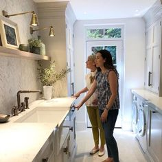 Was so lovely to have Lynda Hayburn of come and visit the completed utility room today. I'm so proud of it and so happy with… – Mudroom Laundry Room Doors, Laundry Room Remodel, Small Laundry Rooms, Kitchen Sink Design, Laundry Room Design, Interior Design Living Room, Living Room Designs, Boot Room Utility, Laundry Room Inspiration