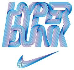 nike hyper dunk – Alex Trochut