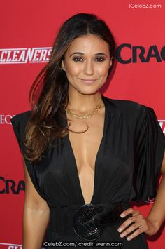 """Emmanuelle Chriqui Crackle Presents: Summer Premieres Event For Originals, """"Sequestered"""" And """"Cleaners"""" http://icelebz.com/events/crackle_presents_summer_premieres_event_for_originals_sequestered_and_cleaners_/photo7.html"""