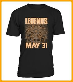 Legends are born on May 31 - Badminton shirts (*Partner-Link)