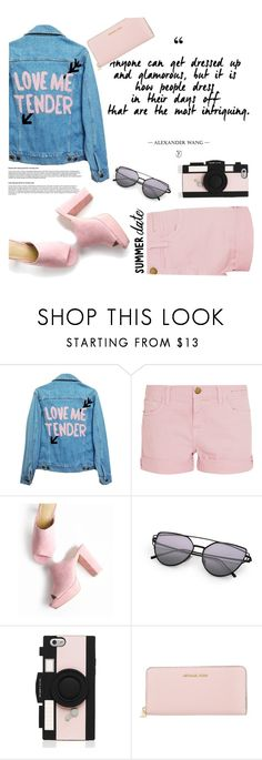 """""""Untitled #17"""" by savinadfx on Polyvore featuring High Heels Suicide, Current/Elliott, Kate Spade and Michael Kors"""