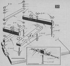 Fabricación y uso de pantográfo casero de tallar