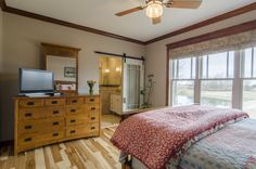 The Irby House Plan - Master Bedroom