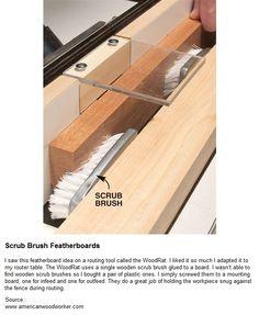 Čistící kartáč Featherboards