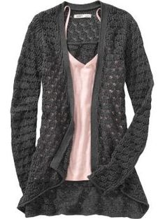 I like that this could be worn casually with jeans or nicer with a maxi skirt or something.