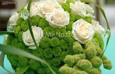 Ricca galleria di foto di fiori verdi per il matrimonio, allestimenti e addobbi per un matrimonio in verde