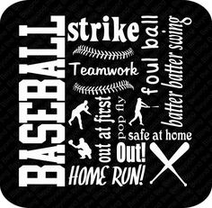 baseball vinyl subway art download DIY by BeyondtheBlingUSA