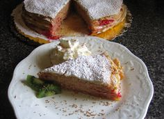 10 Delicious Reasons to Try Hungarian Food: Hungarian Stacked Pancakes - Rakott Palacsinta Hungarian Desserts, Hungarian Cuisine, Hungarian Recipes, Hungarian Food, Hungarian Cookies, Slovak Recipes, German Recipes, European Dishes, Mixed Grill