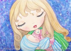 Mother and Baby watercolor art print. Mother's Day by MartaDalloul