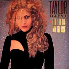 """Song 68A """"Tell It to My Heart"""" - Taylor Dayne (1987) I always played basketball to stay in shape and would take dance tapes onto the basketball court when I worked out alone and played them on my boom box. http://www.youtube.com/watch?v=Ud6sU3AclT4 (There are three songs that I associate with this, 68B and 68C coming soon)"""