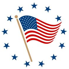 Sometimes you just want to show how patriotic you are. This free American flag clip art will help you do that! American Flag On Pole, American Flag Clip Art, Blue Christmas Lights, Decorating With Christmas Lights, Patriotic Decorations, Patriotic Crafts, Patriotic Party, July Crafts, Holiday Decorations