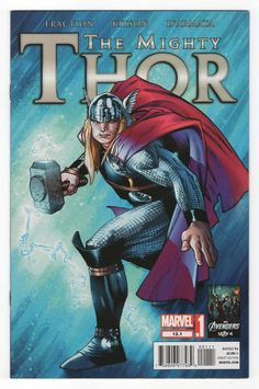 Mighty Thor #12.1 Regular Olivier Coipel Cover (2012)