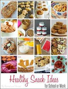 A healthy and quick breakfast or snack for school.