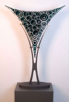 Glass casting eclipse Fritz Schomburg