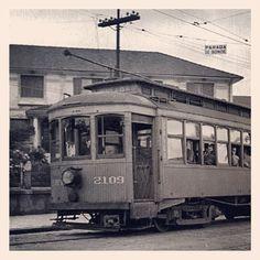 Old trolley at Conselheiro Rodrigues Alves Street, Vila Mariana  Sao Paulo / Brazil