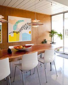 Wood panelling