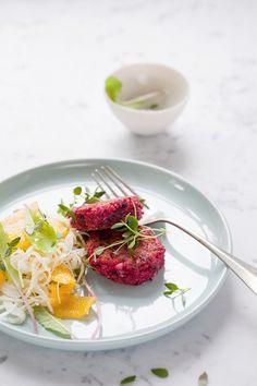 Beet and quinoa cakes | Dagmar's Kitchen