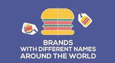 Una infografía que recoge cómo se llaman algunas marcas según el país