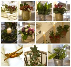 Go green for Christmas with these ideas for an organic holiday table>> http://www.hgtv.com/handmade/organic-holiday-table-decorations/pictures/index.html?soc=pinterest