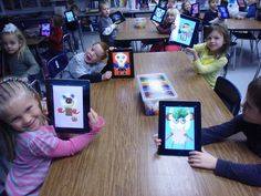 iPads at Dryden by Tricia Fuglestad. Using iPads in the art room opens up opportunities for exploration beyond what I was able to teach before. Take a quick look at the things we are learning. I have a feeling this is just the beginning of something big.
