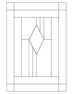★ Stained Glass Patterns for FREE ★ glass pattern 623 ★