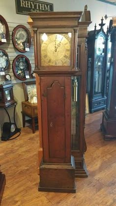 Wonderful This Handsome (1766) Grandfather Clock Has Been Repaired And Recently  Delivered To Another Satisfied