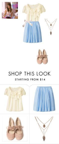 """violetta"" by maria-look on Polyvore featuring Uniqlo"