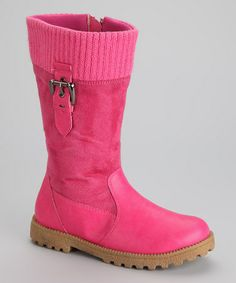 Fuchsia Angeline Boot by Link on #zulily today!