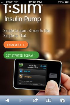 t-slim insulin pump