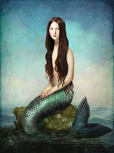 Deep Waters by ChristianSchloe the mermaid