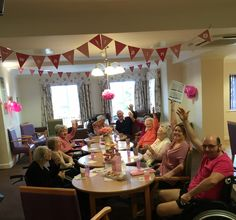 Tickled Pink café – open for business - Springhill Care Home