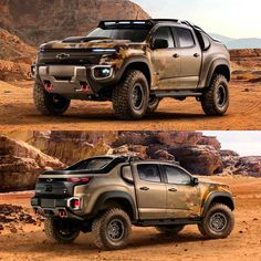 GM announces the new MILITARY hydrogen powered Chevy Colorado ZH2... ISIS won't even hear it comin'. Quiet warfare awaits...