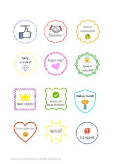 Képességfejlesztő Ötlettár Blog: Jutalommatricák Classroom Rules, Classroom Decor, Lob, Pre School, Back To School, Free Printable Art, Brain Gym, Schools First, Positive Reinforcement