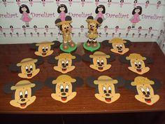 Dareliart: Mickey e Minie Safari em Eva - Encomenda da Sheila...