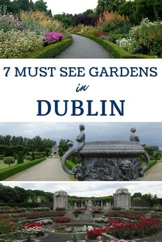 Must See Gardens in Dublin Visit these seven free beautiful Dublin, Ireland gardens.Visit these seven free beautiful Dublin, Ireland gardens. Dublin Travel, Ireland Travel, Galway Ireland, Cork Ireland, Paris Travel, Backpacking Ireland, The Places Youll Go, Places To Go, Parks