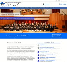 New - Oldham County High School Band Boosters High School Band, Band Director, Hard Work And Dedication, National Association, School Spirit, Music Education, Design Development, Over The Years, Good Music