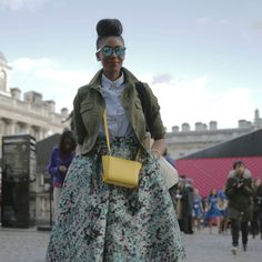 The Marie Claire Team Go Street Style Spotting On Day Two Of London Fashion Week