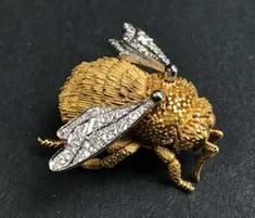 Cheap Sale Cabouchon Collectable Jewellery & Watches Large Leopard Brooch Sturdy Construction